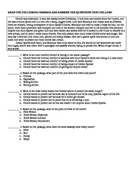 Forged by Fire by Sharon Draper Test and Assessment on ELA Skills