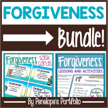 Forgiveness BUNDLE:  All Forgiveness Activities