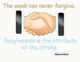 Forgiveness Classroom Poster