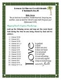 Forgiveness Lesson on David and Saul (Teen)