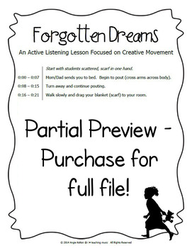 Forgotten Dreams - An Active Listening Lesson