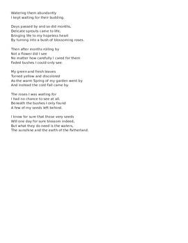 Forgotten Fire Poetry Seminar
