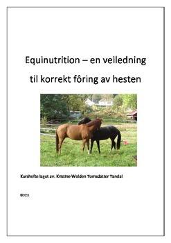 Foring av hest