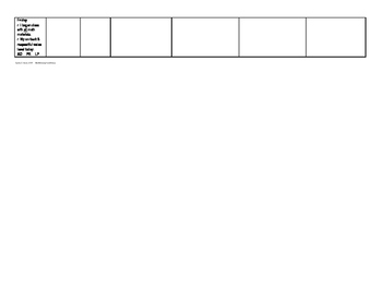 Form 4M - Managing My Math Minutes