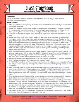 Form: Class storybook template