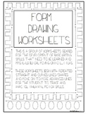 Form Drawing Set - Lines/Curves - Basic Writing Skills Pac