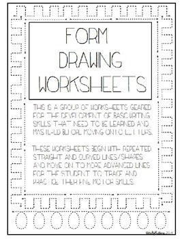 Form Drawing Set - Lines/Curves - Basic Writing Skills Pac