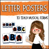 Patterns and Form Visual Aides for Music Class