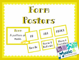 Elements of Music- Form Posters