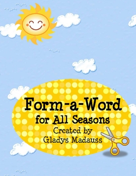Form-a-Word for All Seasons (Cut out letter tiles)
