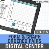 Google Classroom Activities | 5th Grade Form and Graph Ord