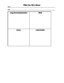 Form for Absent Student