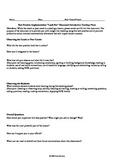 Form for Teachers Observing an Instructional Coach Modeling Teaching