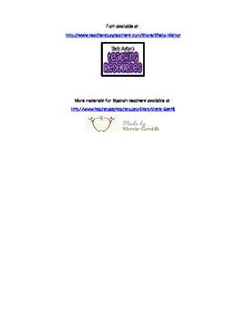 Form for listening comprehension/Formulario para comprensión auditiva