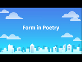 Form in Poetry - Slides Instruction and Docs Guided Notes