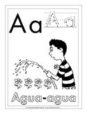 Formación de Letras: Ejercicios de Letra Mansucrita