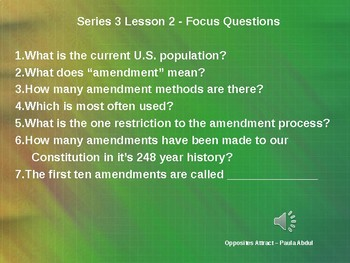 Formal Amendment