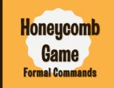 Spanish Formal Commands Honeycomb Partner Game