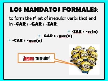 Formal Commands (Ud. & Uds.)