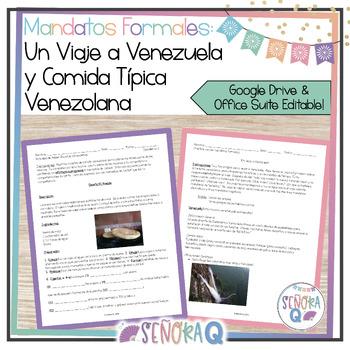 Formal Commands - Un Viaje a Venezuela y Comida Típica Venezolana