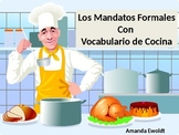 Formal Commands using Cooking Vocabulary