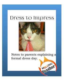 Formal Dress Notes