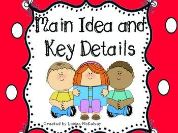 Formal Lesson Observation Main Idea and Key Details Unit R.1.2 LAFS.1.RI.1.2