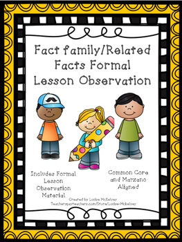 Formal Lesson Observation Fact Family Related Facts