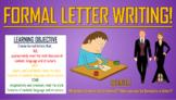 Formal Letter Writing!