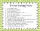 Formal Writing Rules {FREE}