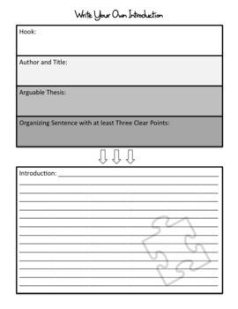 Argumentative Writing: Writing Introductions