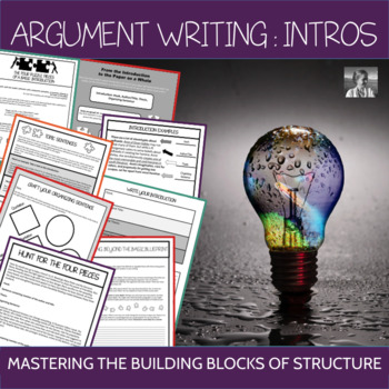 Formal Writing: The Introduction Puzzle, ELA 7-10