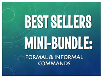 Best Sellers: Spanish Formal and Informal Commands