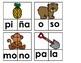 Formando Palabras de Dos Sílabas (44 palabras)