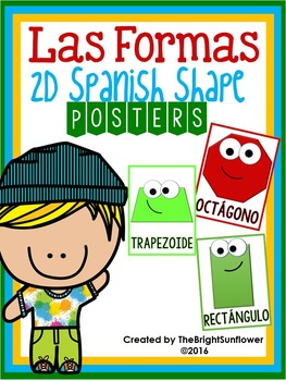 Formas- 2D Spanish Shape Posters