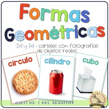 Formas Geométricas - Spanish Shape Posters