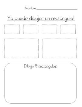 Formas (Spanish shapes)