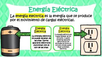 Formas de Energia - Forms of Energy