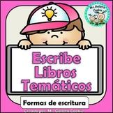 Formas de escritura libros temáticos Español All About boo