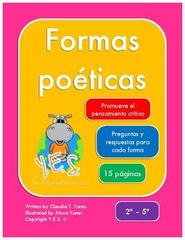 Formas poéticas