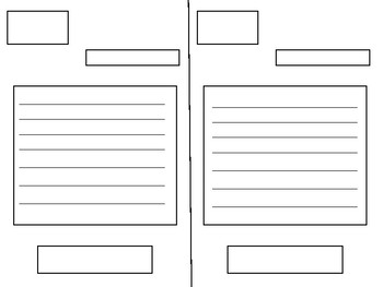 Format external structure of the letter