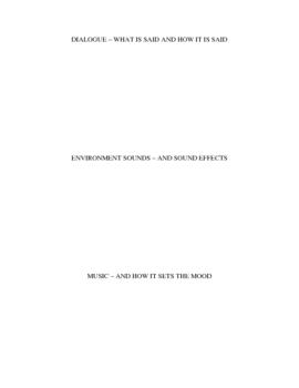 Format of Film Hook Activity