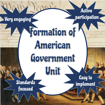 Formation of American Government Unit