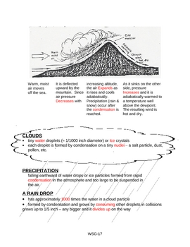 Formation of Clouds & Adiabatic Cooling
