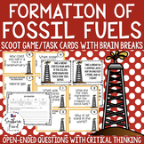 Fossil Fuels Scoot Game/Task Cards
