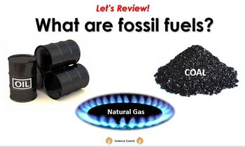 Formation of Fossil Fuels (using bread)