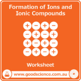 Formation of Ions and Ionic Compounds [Worksheet]