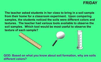 Formation of Rocks, Soil, and Fossils Review