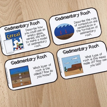 Formation of Sedimentary Rock and Fossil Fuels Activities Bundle