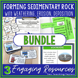 Sedimentary Rock and Fossil Fuels Formation | Activities Bundle